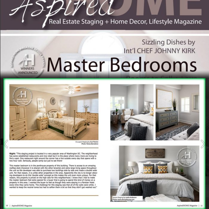 Published in Aspired Home Magazine, August-November 2017 Issue